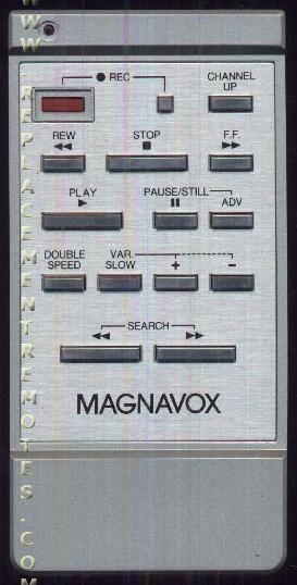 Magnavox VSQS0079 VCR Remote Control