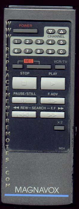 Magnavox VSQS0540 VCR Remote Control
