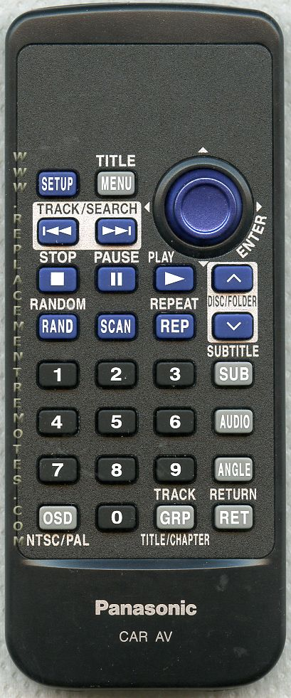 Buy Panasonic Yefx999256a Car Audio System Remote Control