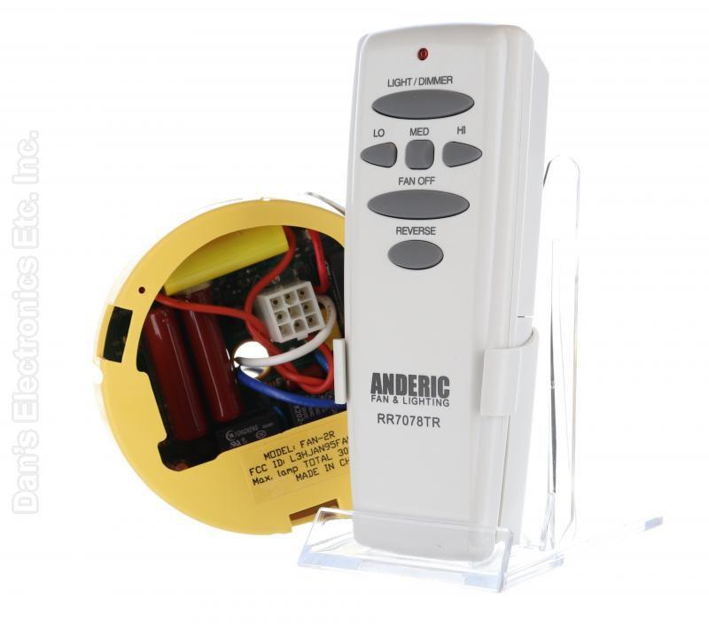 Buy ANDERIC FAN2R/RR7078TR for Hampton Bay -FAN2R-RR7078TR-KIT ... on