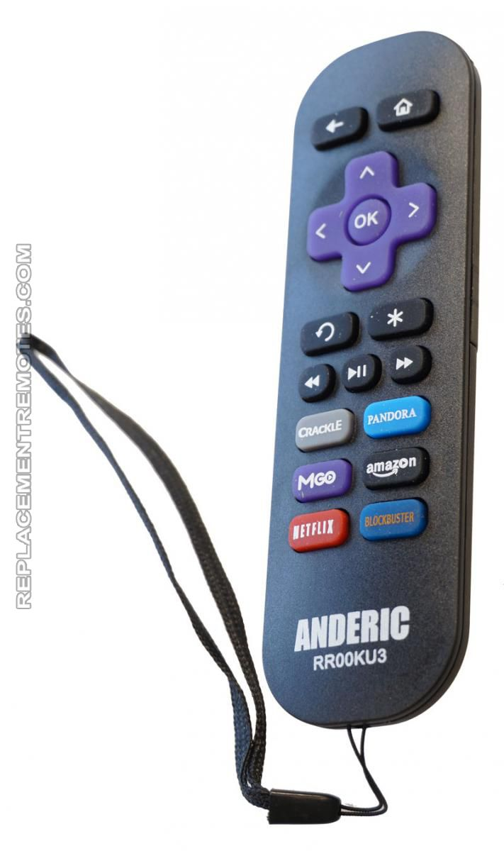 Replacement remotes featured products more details anderic rr00ku3 for roku ir remote controls rubansaba