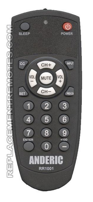 RR1001S Pre-programed for Samsung