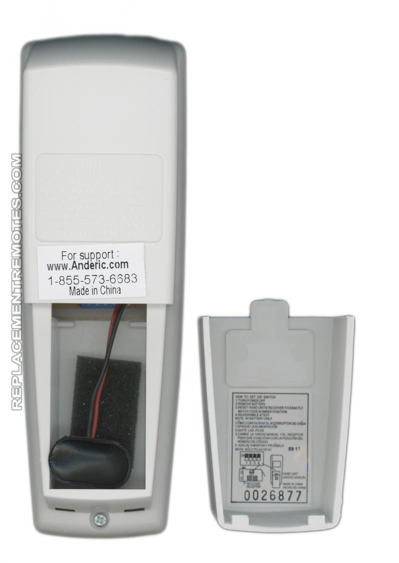 Buy Anderic Rr7078tr Reverse Rr7078tr Ceiling Fan Remote