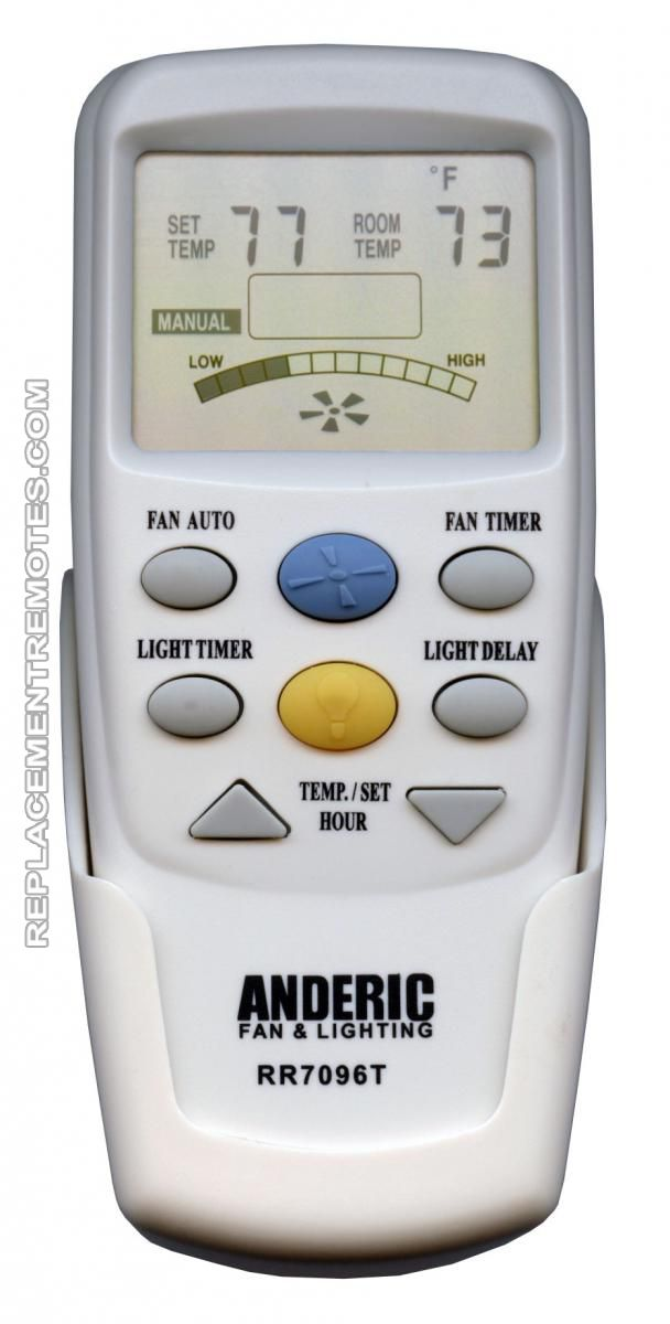 Buy Anderic Rr7096t Ceiling Fan Remote Control