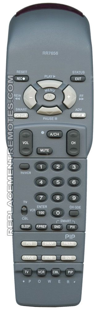 ANDERIC RR7656 PHILIPS TV Remote Control