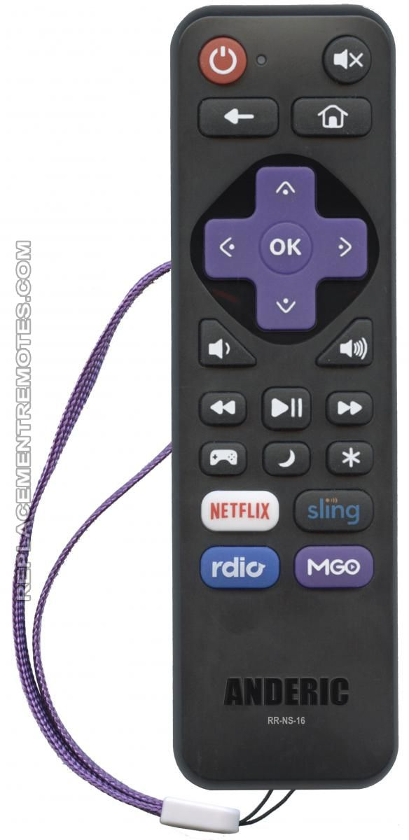 Buy ANDERIC RR-NS-16 for Insignia/Element Roku Enhanced