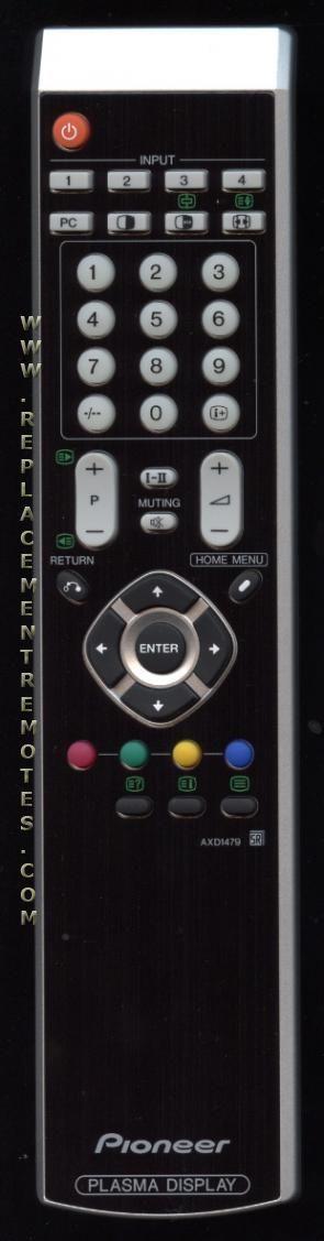 PIONEER AXD1479 Remote Control