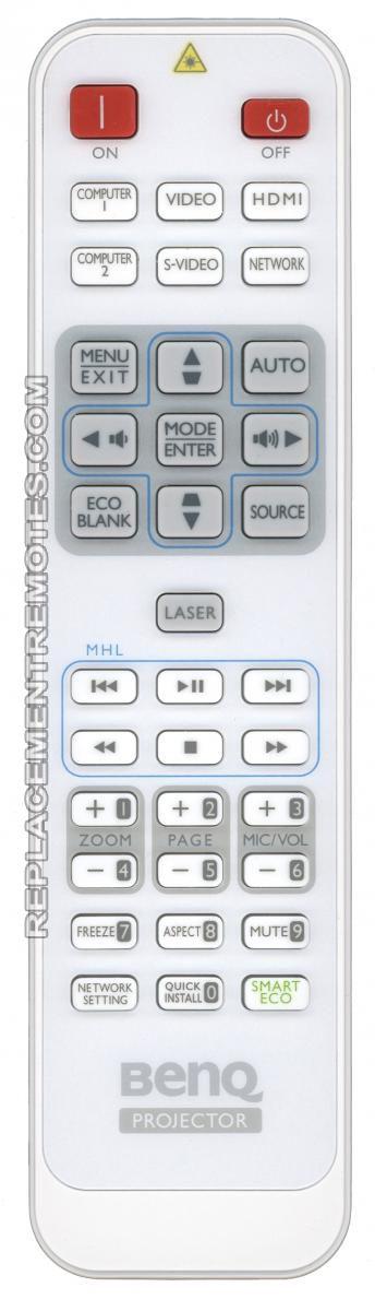 BenQ 1051A-5986 Projector Remote Control