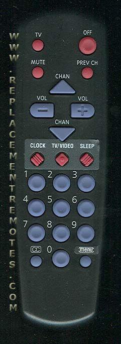 RCA CRK10C1 TV Remote Control