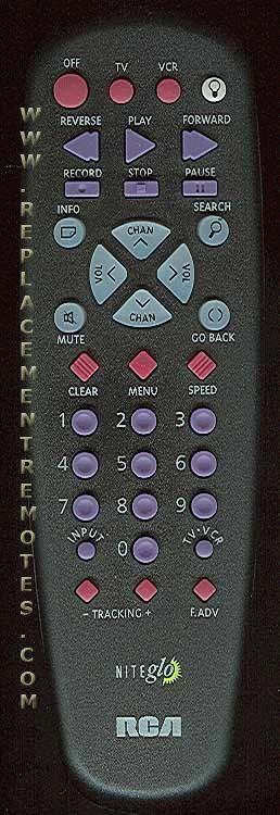 RCA CRK235CL TV Remote Control