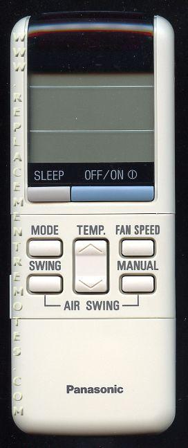 Buy Panasonic A75c561 Cwa75c560 Air Conditioner Unit Remote Control