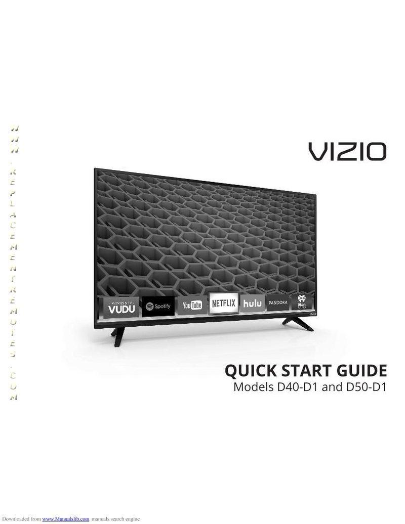VIZIO D50D1OM Operating Manual