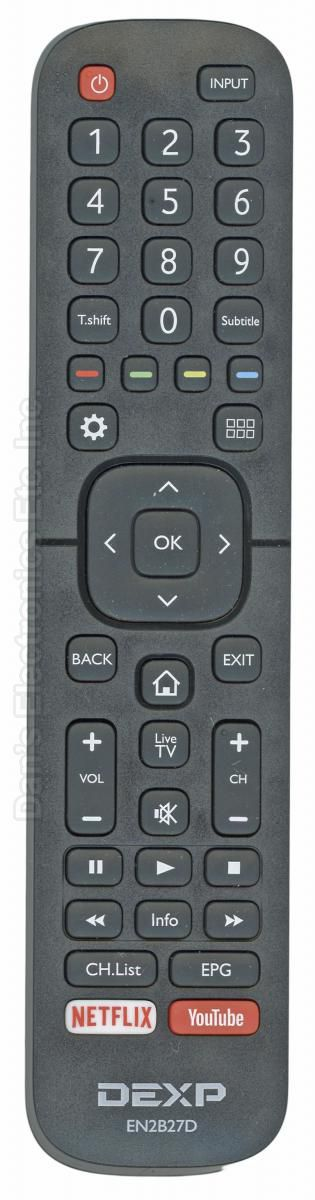 DEXP EN2B27D Remote Control