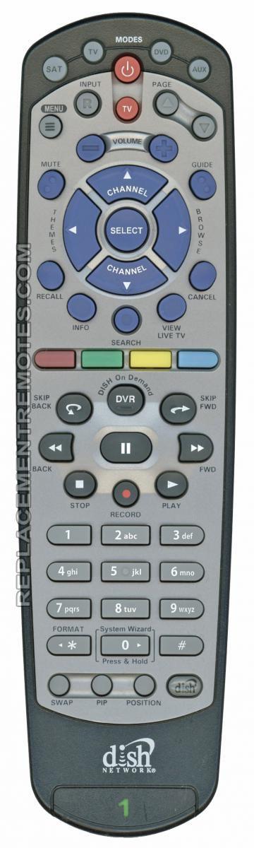Dish-Network 20.0 IR Satellite Receiver Remote Control