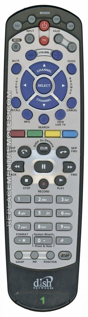 Buy Dish-Network 20 1 IR -180552 Satellite Receiver Remote Control