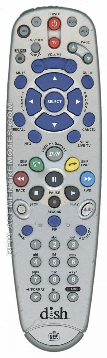 Buy Dish-Network 6 4 IR/UHF PRO -189463 Satellite Receiver Remote Control