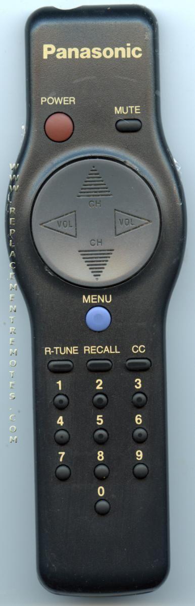 Panasonic EUR501059 TV Remote Control