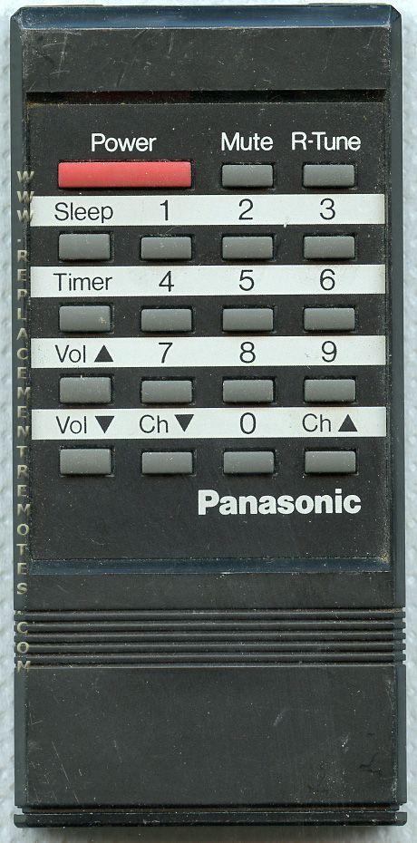 Panasonic EUR50174 TV Remote Control