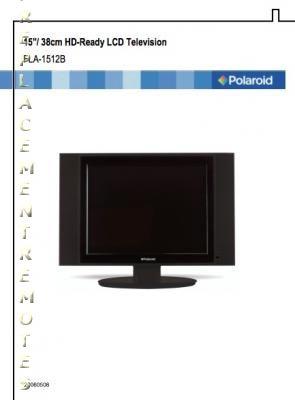 buy polaroid fla1512bom fla1512b operating manual rh replacementremotes com