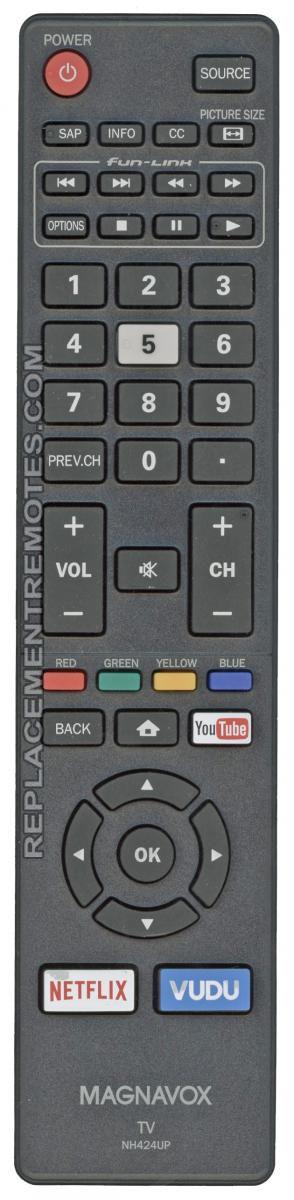 Magnavox NH424UP TV Remote Control