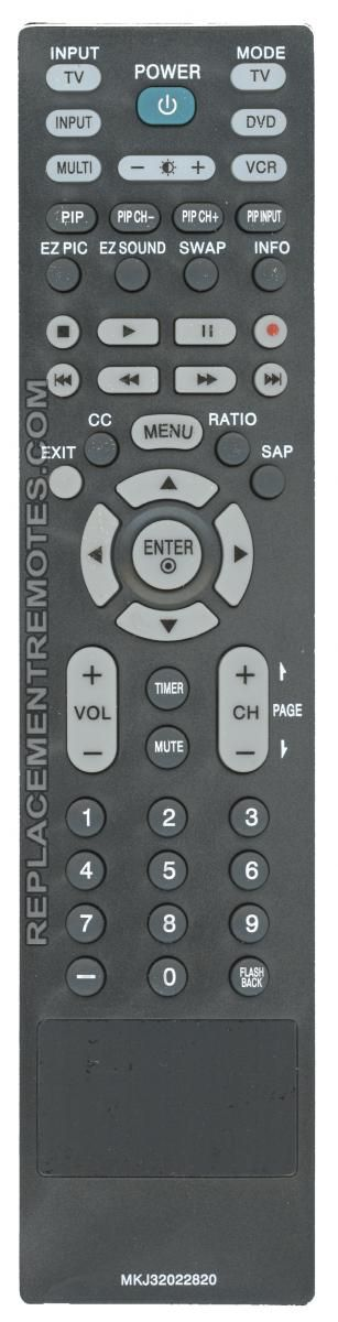 Anderic Generics MKJ32022820 For LG TV Remote Control