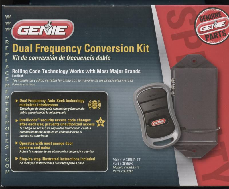 Buy Genie Girud 1t Universal Garage Door Opener Kit Girud1t