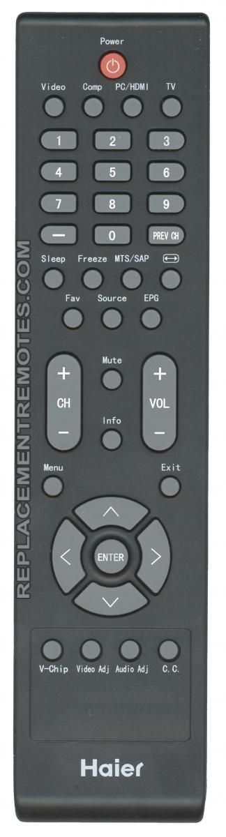 Buy Haier TV-5620-97 098GRABDANEHRC -TV562097 TV Remote