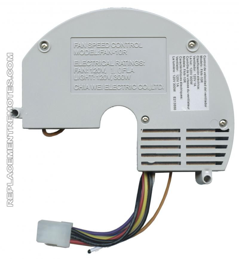 Buy Anderic Fan-10r Replacement Ceiling Fan Receiver For Hampton Bay