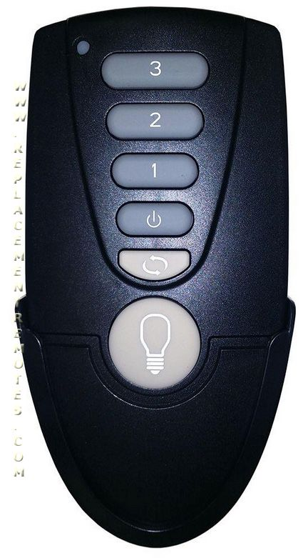 Home Decorators Collection TR171B Ceiling Fan Remote Control ...