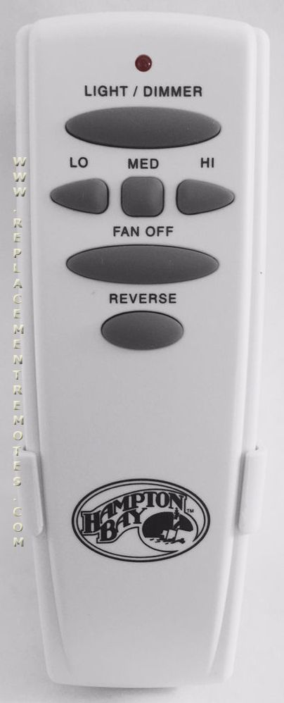 Hampton Bay Uc7078tr Fan Hd With Reverse Ceiling Remote Control
