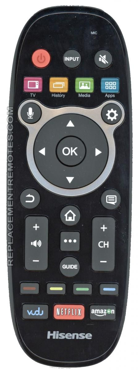 Buy HISENSE ERF6B11 RF Voice -167723 TV Remote Control