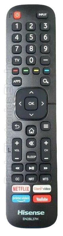 HISENSE EN2BL27H TV Remote Control