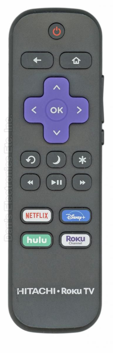 HITACHI RCALIR ROKU TV Remote Control