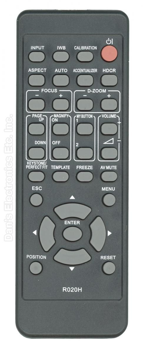 HITACHI HL03033 Projector Remote Control