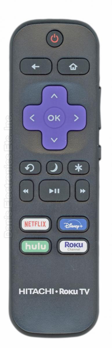 HITACHI RC472 ROKU TV Remote Control