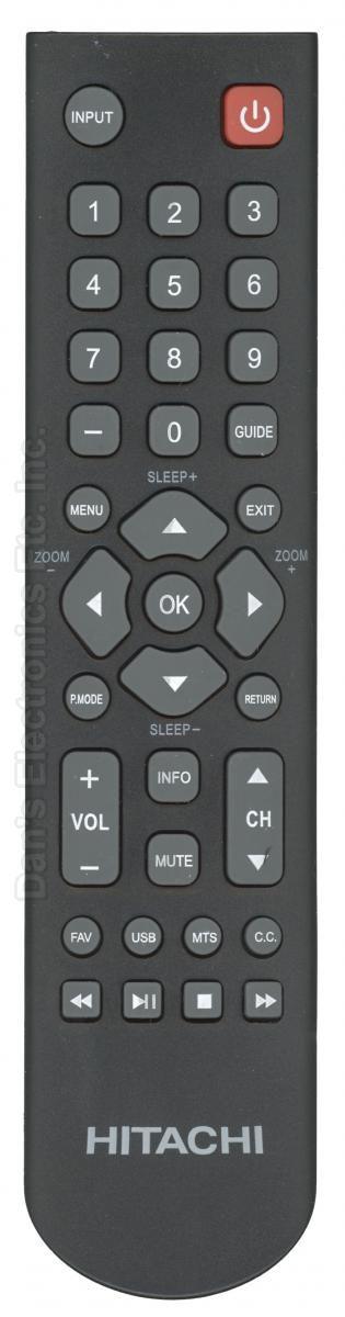 HITACHI X490002 TV Remote Control