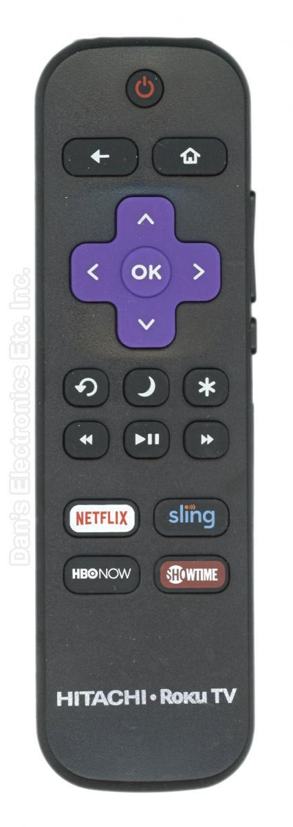 HITACHI 101018E0002 Roku TV Remote Control