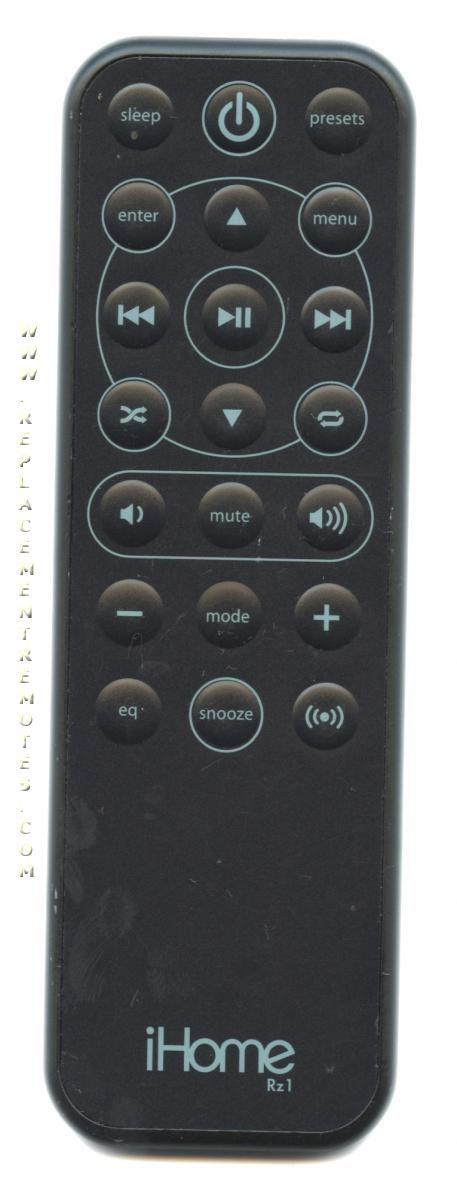 Buy Ihome Rz1 Audio System Remote Control