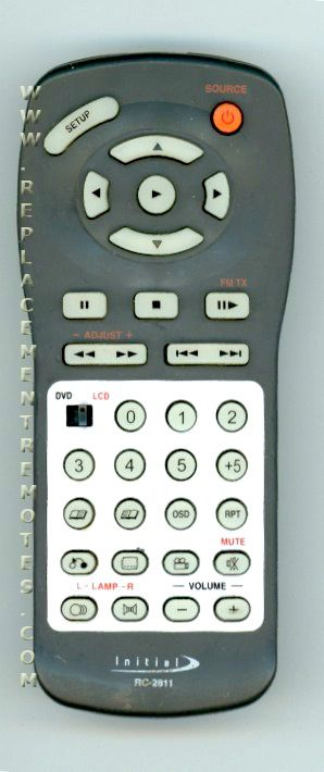 Buy INITIAL RC2811 Remote Control
