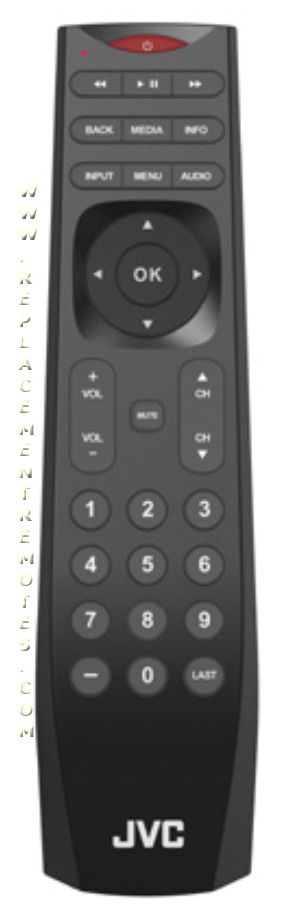 JVC 098003060013 TV Remote Control