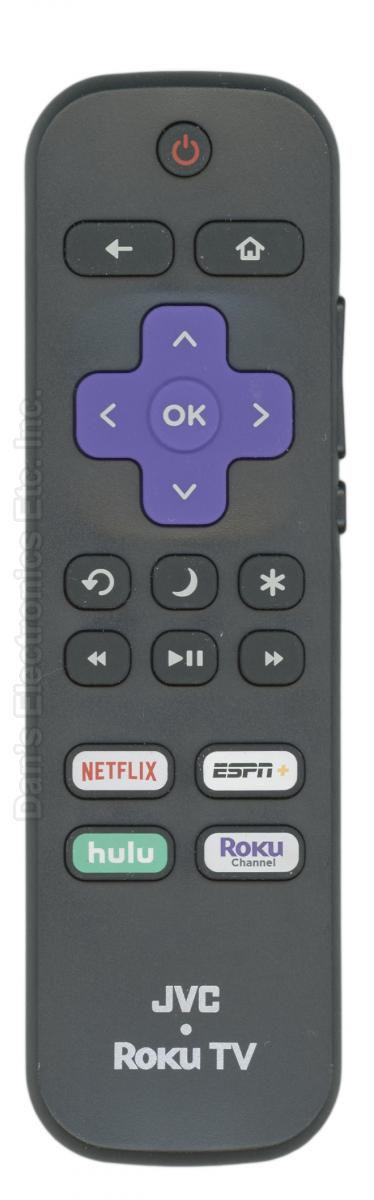 JVC 101018E0067 roku TV Remote Control