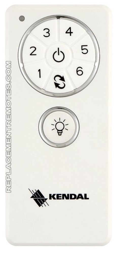 Buy Kendal Lighting 6 Speed Remote Control Dc1 Ceiling Fan