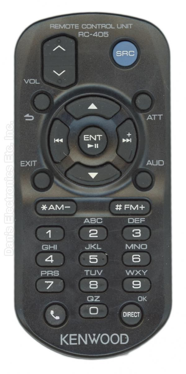 KENWOOD RC405 Car Audio System Remote Control