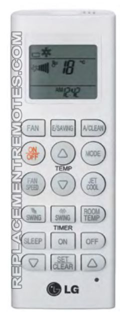 Buy Lg Akb73835305 Air Conditioner Unit Remote Control
