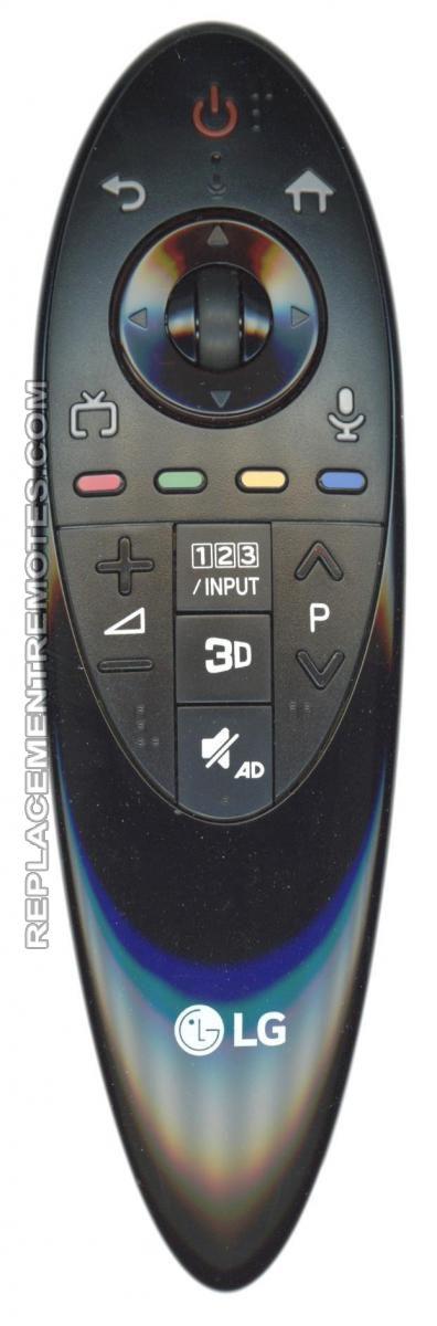 LG ANMR500G TV Remote Control