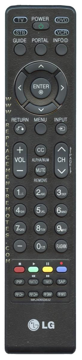 LG MKJ40653832 TV Remote Control
