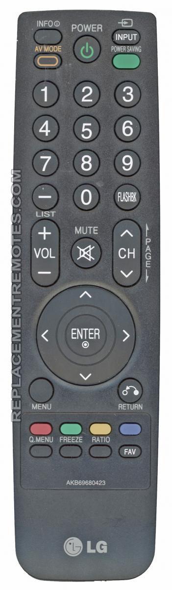 LG AKB69680423 Remote Control