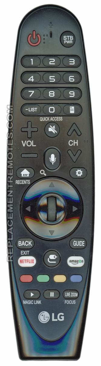 LG ANMR650A TV Remote Control