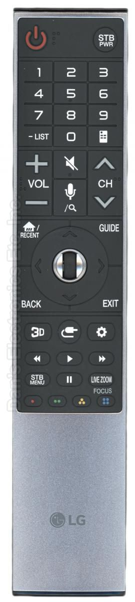 LG ANMR700 TV Remote Control