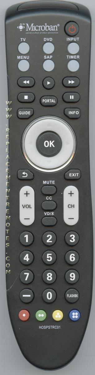Buy LG LG01V2-BED HOSPSTRC01 Microban -HOSPSTRC01 Commercial TV Remote  Control